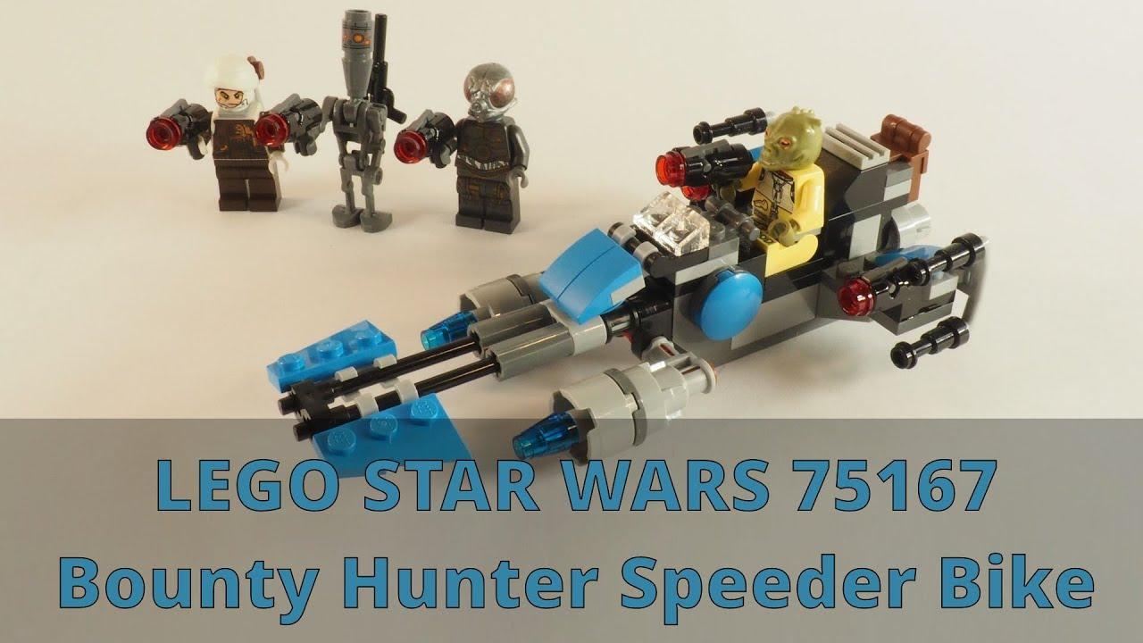Lego Star Wars 75167 Bounty Hunter Speeder Bike Battle Pack *DENGAR* minifigure!