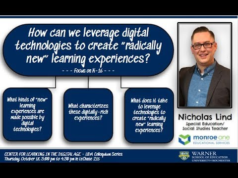 How can we leverage technology to create radically new learning experiences?