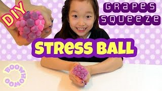 Video Comment faire de bricolage Slime Grapes Squeeze Stress Ball - DIY BOOWHOWOO Art download MP3, 3GP, MP4, WEBM, AVI, FLV Desember 2017