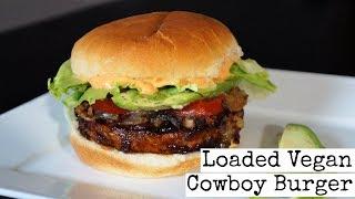 Loaded Vegan Cowboy Burger thumbnail