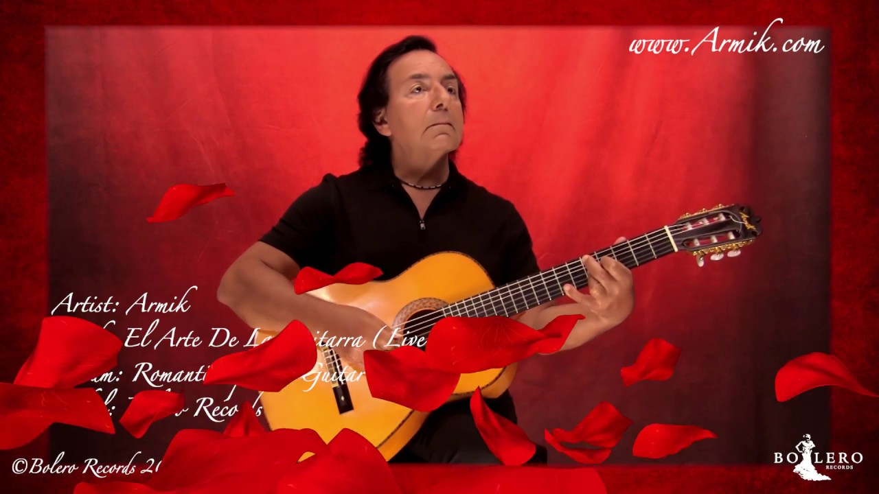 La Arte In Spanish Armik El Arte De La Guitarra Live Variation Official Nouveau Flamenco Spanish Guitar