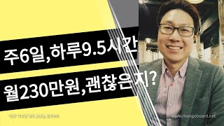 [백승재노무사 노동법실무 질문답변] 월230만원, 최저…