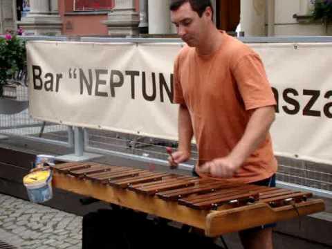 Wirtuoz Na Ksylofonie  W Gdańsku