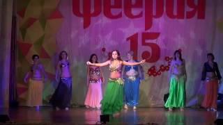 Юбилейный концерт ФЕЕРИЯ 15 лет   танец Вдохновение снимал Виталий Лейко
