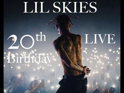 LIL SKIES Live @ Hard Summer 2018 [FULL SET] 20th Birthday Performance, X Tribute