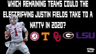 OMG: Justin Fields to an LSU or UGA would be CASHEWS!!