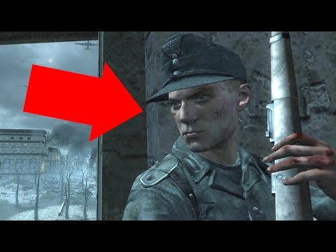 The Secrets Of The German Sniper On World At War's Vendetta Mission! (NerosCinema)