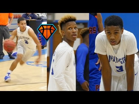 Trent Frazier, Bryan Williams & Sage Chen-Young Lead Wellington Over Palm Beach Gardens!!