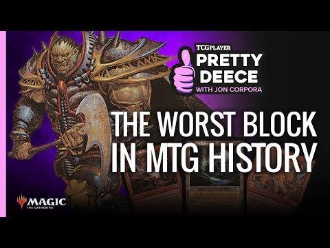 The WORST Block In MTG | Pretty Deece
