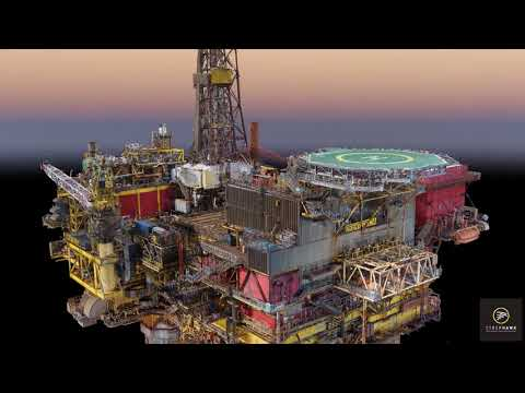 Offshore 3D Model Design for Shell Brent Delta Decommissioning