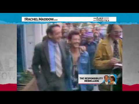 Nancy Pelosi  on the republican Thugs Rachel Maddow