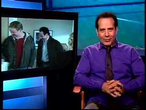 Me interviewing Tony Shalhoub