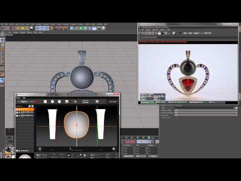 Jewelry render workflow with Cinema 4D and Octane 2.11
