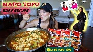 INSTANT MAPO TOFU • Mukbang & Recipe
