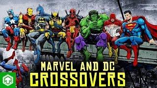 Top 5 crossover của truyện tranh Marvel và DC