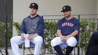 Writers Block - Astros Apology Press Conference