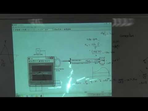 Case Study B:  Induction motor with a VF drive (a), 15/2/2015