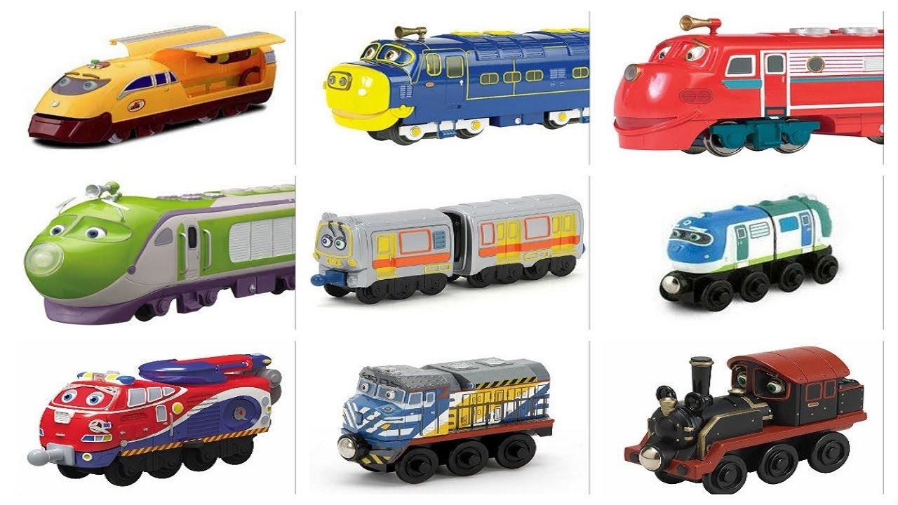 Chuggington Train Characters - YouTube