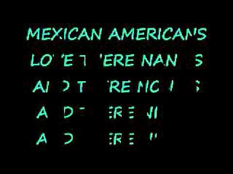MEXICAN AMERICANS LYRICS :D
