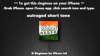 Indian Outraged Short Message Alert Tone (Explicit)
