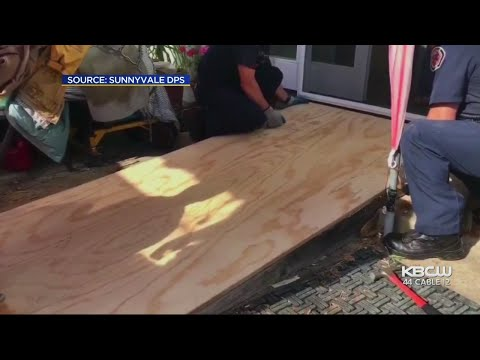 Sunnyvale 1st Responders Lift Up Fallen Man By Building New Wheelchair Ramp