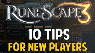 Runescape 2016 | 10 TIPS FOR NEW PLAYERS