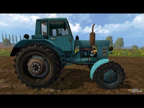 Farming Simulator 15 обзор трактора МТЗ 82 (скачать)