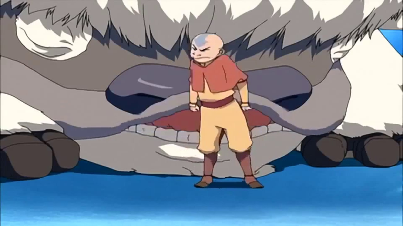 Avatar The Last Airbender This Is Appa My Flying Bison Right Katara Sister
