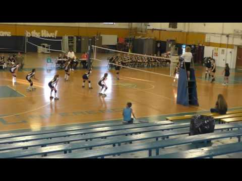 Spencer Middle School Volleyball vs  Wirt County Middle School 10-4-16