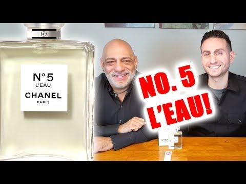 cc21dc4b6d0 Chanel No. 5 L eau Fragrance   Perfume Review - YouTube