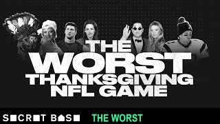 Football has grown to be as big a part of Thanksgiving as eating turkey or your Uncle Frank getting belligerently drunk. But in 2012, we got a travesty of a game ...