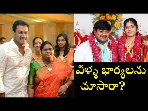 Telugu Comedian's Wife photos|Unseen comedian family pics|AVA Creative thoughts