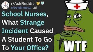 Weirdest Injuries That Made People Go To The School Nurse (r/AskReddit)