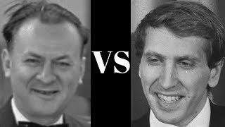 Reuben Fine vs Bobby Fischer - notable blitz game - Manhattan Chess Club, New York   1963