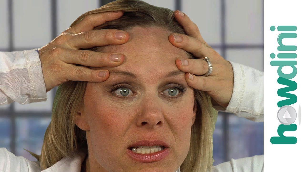 How To Reduce Forehead Wrinkles With Face Yoga Youtube