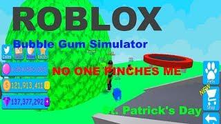 🍀Roblox Bubble Gum Simulator St. Patrick's Day🍀