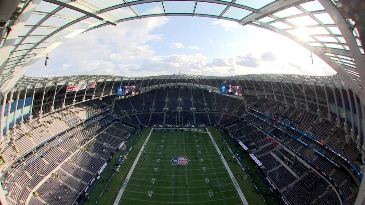 Tottenham Hotspur Stadium From Premier League To Nfl Youtube