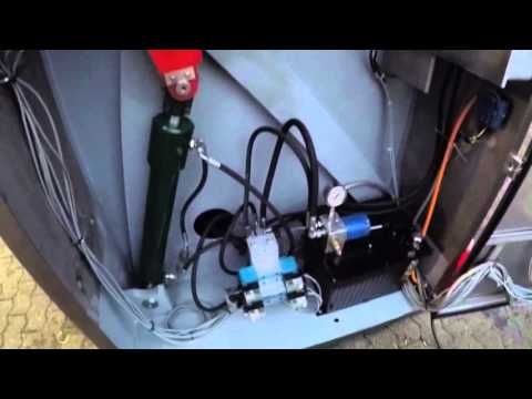 DL Leasing Meat Processing Machinery - LASKA ME 500 ZNA1 Z-Arm Mixer