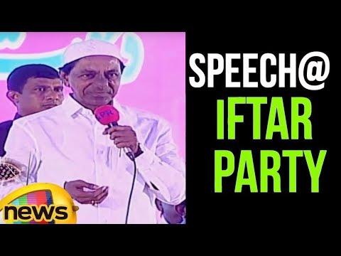Telangana CM KCR Hosts Iftar Party at LB Stadium | KCR Speech at Iftar Party | Mango News