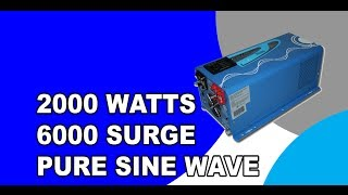 AIMS 2000 Watt Low Frequency Inverter Charger