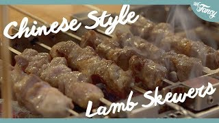 Chinese Lamb Skewers in Korea [Yanggochi 양꼬치]
