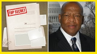 The leaked secret document, left by John Lewis, hurried before it will deleted
