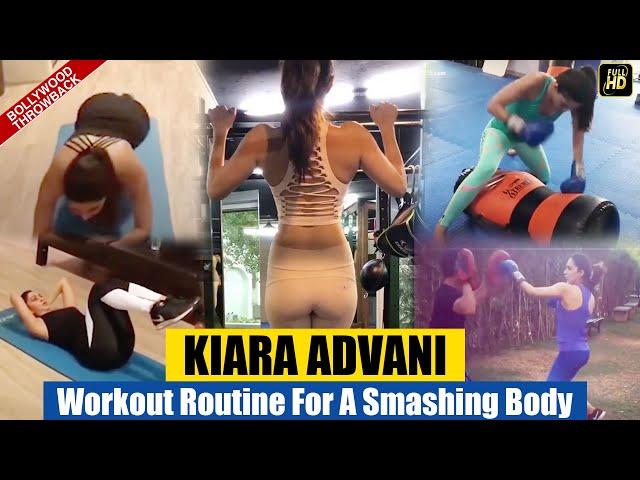 Kiara Advani's HARDCORE Workout Routine For A SMASHING Body | BOLLYWOOD THROWBACK