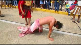 Coatzacoalcos vive el drama de 'La Pasión de Cristo'