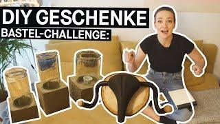 DIY Geschenke + Basteltipps: Die Geschenke-Challenge || PULS Reportage