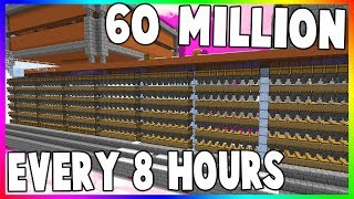 THiS FARM iS MAKiNG 60 MiLLiON EVERY 8 HOURS!! (Minecraft SkyBlock) 35