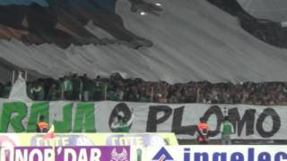 Raja vs Mat  2 - 3 du 17-11-2015, Tifo Ultras Eagles