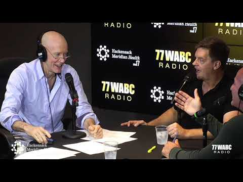 Jim Breuer on Bernie and Sid LIVE from HMH Stage 17!