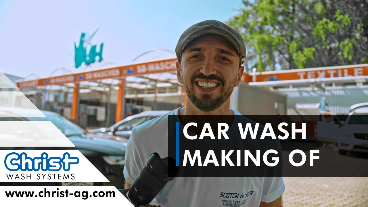 "CAR WASH Fotoshooting - ""Making of"" mit Viktor Stark 