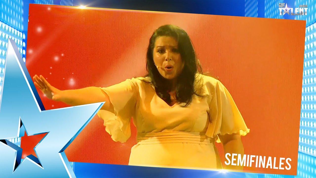 ¡ANA sorprendió con su interpretación de EL REY LEÓN! | Semifinal 6 | Got Talent Uruguay 2